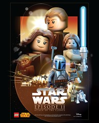 LEGO Star Wars Episode II Attack of the Clones (Pasq67) Tags: lego star wars pasq67 poster starwars episode ii attack clones attackoftheclones episodeii movie posters movieposters