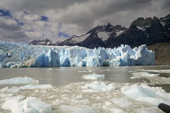 Glacier Grey (Joost10000) Tags: glacier gletcher grey ice iceberg snow rock sky mpuntains mountain torresdelpayne nationalpark wild wilderness beauty scenic chill outdoors water lake lago chile southamerica canon eos patagonia