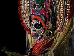 A Mudiyettu performance (leechinyee) Tags: kalaautsavam indian dance theatre mudiyettu religion culture olympus omd em1 highiso 40150mmf28