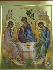 """Пресвятая Троица. Собор иконы Божией Матери """"Неопалимая Купина"""", г. Сосновый Бор"""