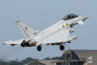 ZJ914 Royal Air Force Eurofighter Typhoon FGR.4