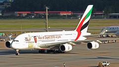 A380 EMIRATES A6-EUV 100th (Rodrigo Durighello) Tags: a380 sbgr a6euv 100th emirates airbus