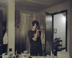 self 1 1600s (ss.ess) Tags: mamiya 7 ii film medium format 120 kodak portra 400 65mm f4 fashion landscape editorial lifestyle shoot rangefinder houston texas usa portrait people selfie 65 4