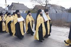 10. Закладка собора в г. Святогорске 01.11.2009