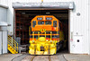 Warehouse Shove (Wheelnrail) Tags: bp buffalo pittsburgh pennsylvania butler pa bt1 local genesse wyoming train trains railroad rail road rails fall jsp plastics warehouse industry street running emd gp383 orange gw bprr