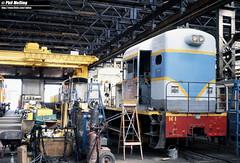 2866 H1 Midland Workshops 14 March 1982 (RailWA) Tags: railwa philmelling westrail 1982 h1 midland workshops
