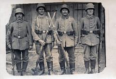 Infanterie-Regiment Herwarth von Bittenfeld (1. Westfälisches) Nr.13 (Paranoid_Womb) Tags: wwi imperial army soldier german empire postcard greatwar worldwar war 1914 1915 1916 1917 1918 worldwarone germany soldiers weltkrieg bw lir13