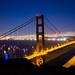 Sun Goes Down on San Francisco