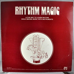 Rhythm Magic by Creative Concepts Childrens Chorus, recorded by the Alfred Jazz-Rock Ensemble and the Alfred Concert Band (Funkomaticphototron) Tags: coryfunk album record cover 33rpm lp vinyl