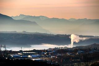 Bellegarde/Valserine au matin