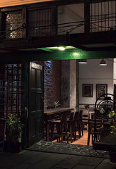 Kedai Seni Djakarte, Indonesia (Plan R) Tags: restaurant cafe kotatua jakarta evening night dark leica m 240 noctilux 50mm
