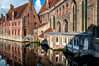 St John's Hospital (Tony Shertila) Tags: bruges brugge dijver bridge brussels building cityscape europe 20170831093044 stjohnshospital belgium canal water outdoor city architecture chocolate fountain vlaanderen bel