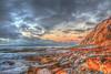 Sunrise Colors on the Coast (Michael F. Nyiri) Tags: cabrillobeach california southerncalifornia beach clouds sky rockyshore rocks tidepools sanpedro