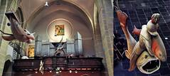 Modules inspirés de l'oeuvre de Jérôme Bosch et buffet d'orgue, Jheronimus Bosch Art Center, S'Hertogenbosch, Brabant-Septentrional, Pays-Bas (claude lina) Tags: claudelina hollande paysbas nederland shertogenbosch boisleduc modules jérômebosch orgue jheronimusboschartcenter églisesaintjacob sintjacobskerk église kerk church