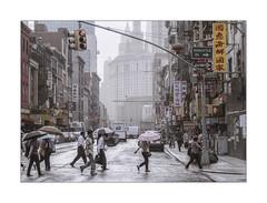 Chinatown (Nico Geerlings) Tags: ngimages nicogeerlings nicogeerlingsphotography chinatown eastbroadway lowermanhattan newyorkcity nyc ny usa rain rainy raining mood atmosphere