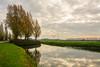 Autumn mirror (stevefge) Tags: beuningen industrieterrein water reflectyourworld reflections bespiegeling clouds wolken trees bomen autumn herfst nederland netherlands nl nederlandvandaag gelderland