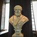 Plato in Long Room of the Old Library, Trinity College, Dublin