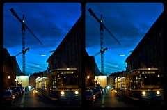 Munich on a late summer evening 3-D / Stereoscopy / CrossEye / HDR / Raw (Stereotron) Tags: bavaria bayern munich münchen streetphotography urban citylife tram street road night bluehour nocturnal europe germany crosseye crosseyed crossview xview cross eye pair freeview sidebyside sbs kreuzblick 3d 3dphoto 3dstereo 3rddimension spatial stereo stereo3d stereophoto stereophotography stereoscopic stereoscopy stereotron threedimensional stereoview stereophotomaker stereophotograph 3dpicture 3dglasses 3dimage twin canon eos 550d yongnuo radio transmitter remote control synchron kitlens 1855mm tonemapping hdr hdri raw