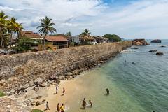 Sea Wall, Galle Fort, Sri Lanka (e.w. cordon) Tags: galle srilanka seawall asia southasia fort swimming ocean