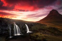 Iceland Landscapes pt. VIII (the_phlog) Tags: kirkjufell iceland island waterfall wasserfall sunset sunrise sonnenuntergang sonnenaufgang dusk dawn hdr colorsthephlog canon eos6d christianmöhrle