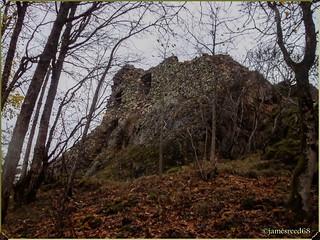 Ruines du chateau du Freundstein - Haut Rhin