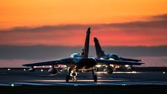 Twilight Departure (Steve Cooke-SRAviation) Tags: tornado 500mm usafe raflakenheath f15eagle 5d3 canon 494fs 48thfighterwing f15e sraviation usaf f15c gr4 rafmarham 492fs 493fs