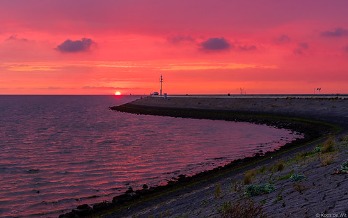 Sunset at Harlingen