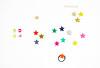 Stars and Beads for Accessories (mayakonakamura) Tags: mayako nakamura mayakonakamura stars accessories hairornament star sakamotogofukuten sakamoto hachioji tokyo christmas christmasevent handpainted