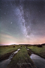 Tracking the Stars (karlmccarthy1969) Tags: stars night milkyway common track