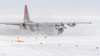 Ready for Take Off (redfurwolf) Tags: southpole antarctica antarctic lc130 hercules herc snow ice flags outdoor npx aircraft airplane redfurwolf sonyalpha a99ii sal70200f28gii sony