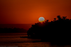 Another Evening Sailing down the Nile, Another Stunning Sun set,