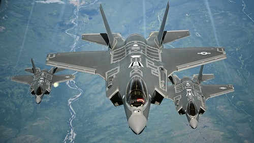 From flickr.com: Lockheed Martin F-35A {MID-273003}