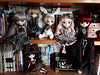 Llegadas - Alice Worlds (Lunalila1) Tags: doll groove junplanning pullip karen llegadas mad hatter steampunk dal chibi risa rock another clock rabbit alice dujardin lunatic queen stock outfit