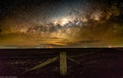 the end of the rainbow (andrew.walker28) Tags: milky way rainbow galactic centre center stars starscape night sky landscape astrophotography darling downs queensland australia