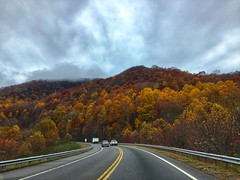 Fall in Franklin, NC