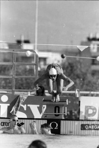 384 Swimming EM 1991 Athens
