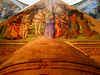 """""""Calvary"""" - fresco by Perugino (Città della Pieve about 1448-Fontignano 1523) - Exterior of Porziuncola Church (10th-11th century) restored about 1205 by Saint Francis - Here Saint Francis founded (year 1208) the Franciscan Order - Santa Maria degli Angel (Carlo Raso) Tags: perugino assisi porziuncola fresco calvary"""