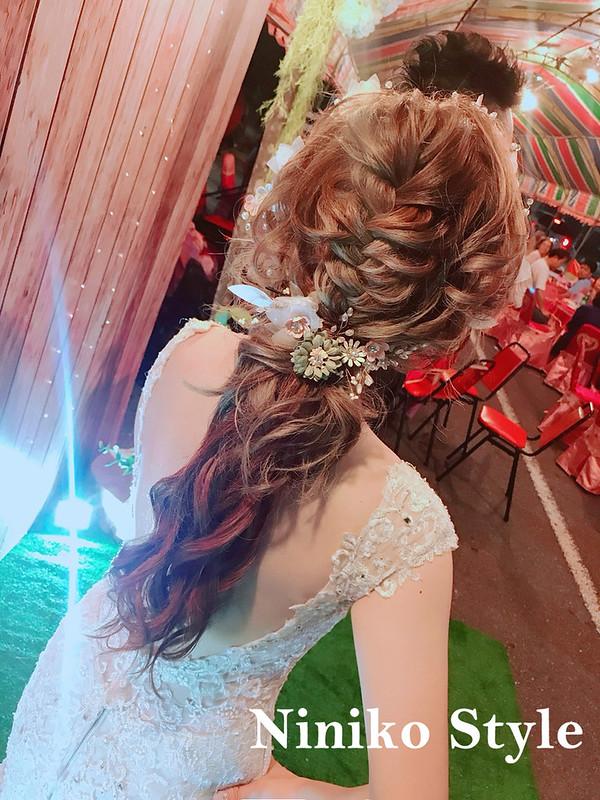婚紗,髮型,2017,新娘,髮飾,婚宴,頭紗,平日,細軟髮