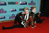 John Grimes and Edward Grimes of Jedward attend the MTV EMAs 2017 held at The SSE Arena, Wembley on November 12, 2017 in London, England. (Photo by Andreas Rentz/Getty Images for MTV)