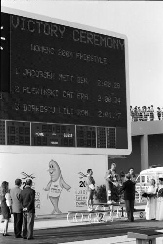 387 Swimming EM 1991 Athens