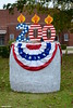 Happy BirtHAY Trenton (Jake (Studio 9265)) Tags: hay bale art creative display artwork country rural usa united states america todd county ky kentucky fall outdoor photography 2017 october happy birthday trenton town cake candles 200 red white blue