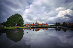 Government Gardens After the Rain (lfeng1014) Tags: governmentgardensaftertherain governmentgardens rotorua southisland newzealand nz bayofplenty rotoruamuseum landscape aftertherain reflection water pond building architect travel lifeng longexposure canon5dmarkiii ef1635mmf28liiusm leefilters 30seconds