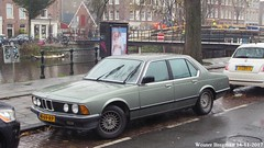 BMW E23 728i automatic 1985 (XBXG) Tags: nb69rp bmw e23 728i automatic 1985 bmwe23 728 bmw728 bmw728i bva automatique hobbemakade amsterdam nederland holland netherlands paysbas vintage old classic german car auto automobile voiture ancienne allemande deutsch deutschland germany vehicle outdoor