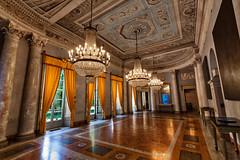 Villa Panza - Imperial Salon (Marco Trovò) Tags: marcotrovò hdr canoneos5d varese italia italy villapanza robertwilson artexposition esposizionedarte saloneimperiale imperialsalon architettura architecture