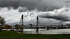 Stormy Day (Bruce vdS) Tags: portland oregon hawthornebridge willametteriver clouds stormclouds stormyday darkclouds impendingstorm on1photoraw2018