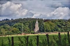 Vue sur l'église de burtonville (RenaudWarnotte) Tags: burtonville paysage hdr panorama neuvillehaut eglise religieux