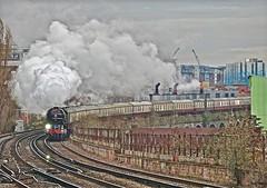 Tornado to Kent (Deepgreen2009) Tags: kent tornado steam uksteam battersea london a1 br peppercorn pacific victoria
