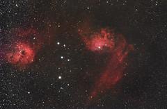 IC 405 Flaming Star Nebula, Auriga, 19 Novembre 2017 (Reynolds Sr.) Tags: starrynight qhy10ccd apm tecnosky auriga profondocielo deepsky pixinsight astronomia astronomy astrometrydotnet:id=nova2625218 astrometrydotnet:status=solved