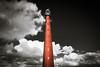 Lighthouse 'Lange Jaap' in the clouds (Ramireziblog) Tags: vuurtoren lange jaap huisduinen den helder lighthouse cloud wolken sky landscape gietijzer veiligheid scheepvaart lens radar hoogste nederland noordholland