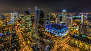 Singapore night impressions
